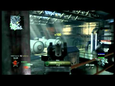 COD Lag Test, Black Ops Lagometer on console.