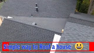 getlinkyoutube.com-The best way to waterproof a low slope roof , valley areas , shingles, repair, fix , the best video.