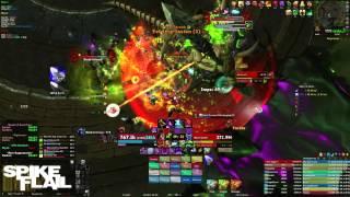 getlinkyoutube.com-Spike Flail vs. Mannoroth Mythic HFC - Blood DK PoV