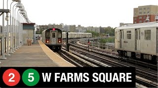 getlinkyoutube.com-NYC Subway: West Farms Square (2) and (5) Trains