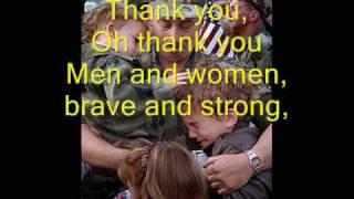 getlinkyoutube.com-Thank You Soldiers - Veteran's Day/Memorial Day Song