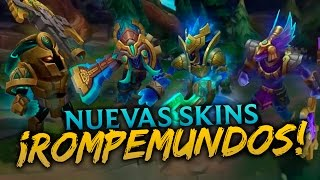 getlinkyoutube.com-Nuevas Skins: Nautilus - Trundle - Hecarim - Nasus | Noticias LOL