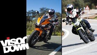 getlinkyoutube.com-Honda CBR500R / CB500F review | Visordown road test