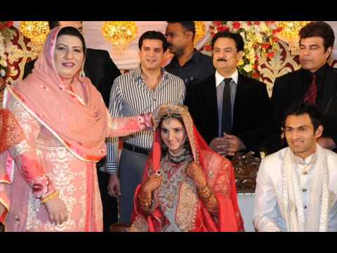 Sania Mirza and shoiab malik Wedding Pictures HQ