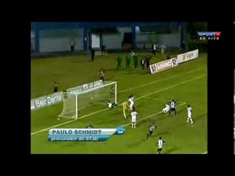Tupi - Massagista da Aparecidense tira gol do Tupi aos 44 minutos do 2° tempo.Absurdo!