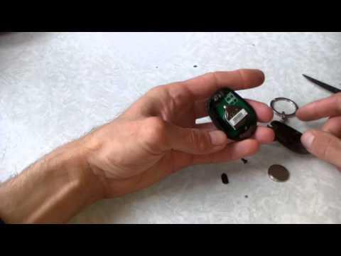Замена батарейки в ключе SsangYong Kyron