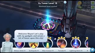 SimCity BuildIt High level gameplay all disasters