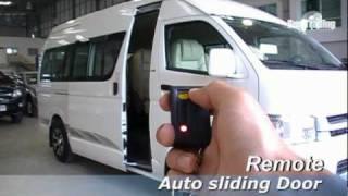 getlinkyoutube.com-Toyota commuter auto slide door 2 EP.5