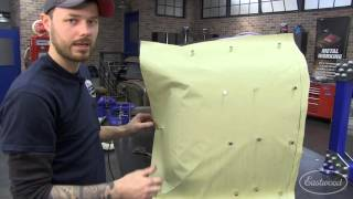 getlinkyoutube.com-How To Make a Paper Pattern Template for Metal Fab & Sheet Metal - Hand-Made Fender - Eastwood