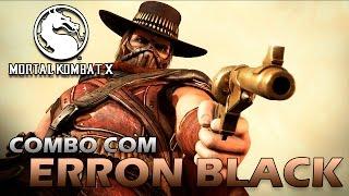 getlinkyoutube.com-Mortal Kombat X: Combo com Erron Black - TUTORIAL