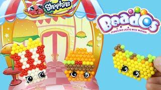getlinkyoutube.com-Shopkins Beados Fast Food Diner Activity Pack Moose Toys Review
