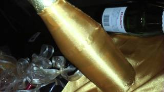 getlinkyoutube.com-Como decorar Botellas para Boda