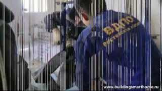 Монтаж дымохода для газовых котлов