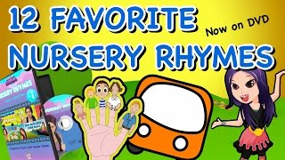 Nursery Rhymes Collection - Kid Songs DVD for Children