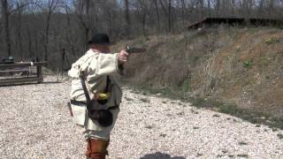 getlinkyoutube.com-Shooting the Pedersoli Kentucky Pistol Kit