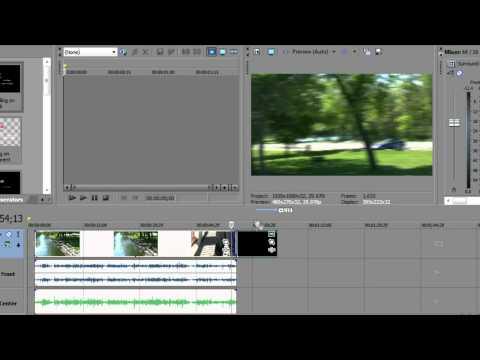 Sony Vegas movie Studio HD 10 Platinum Production Suite