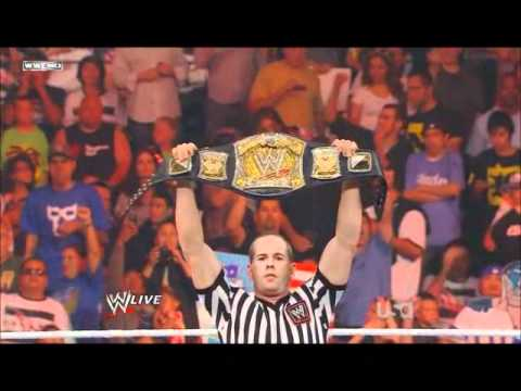 WWE Monday Night Raw 2011/08/15 : WWE Championship Match Alberto Del Rio vs Rey Mysterio [PART1]