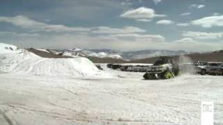 getlinkyoutube.com-世界最速の雪上車 : SUBARU インプレッサ WRX STI「TRAX」