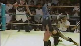 getlinkyoutube.com-Jungle Jack VS Bull Nakano & Grizzly Iwamoto