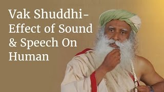 getlinkyoutube.com-Vak Shuddhi - Effect of Sound & Speech On Human