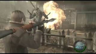 getlinkyoutube.com-RESIDENT EVIL 4 MODO MEGA IMPOSIBLE 2017 GAMEPLAY 1