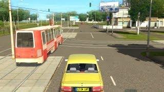 getlinkyoutube.com-City Car Driving Gameplay