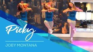 getlinkyoutube.com-Joey Montana - Picky - Available on computer/laptop  Easy Fitness Dance Choreography