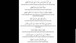 Aurad Asas Tarikat Ahmadiah Idrisiah