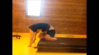 Overarch cheststand on contortion platform