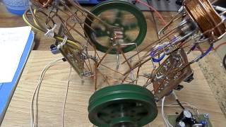 getlinkyoutube.com-Magnetic acceleration two-piston motor