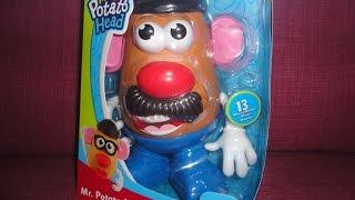 getlinkyoutube.com-MR. POTATO HEAD - Playskool (Toys on a budget) Playful review for kids & family