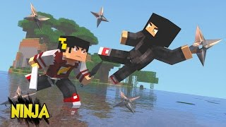getlinkyoutube.com-Minecraft Mod: ESCADONA - ITENS NINJAS (The Ninja Mod ) ‹ AM3NIC ›