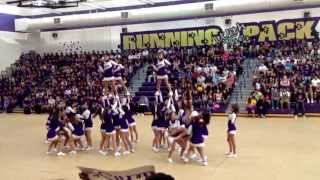 getlinkyoutube.com-Livingston High School Back To School Rally - Cheerleaders 8/23/13