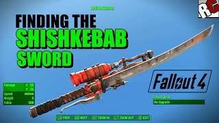 getlinkyoutube.com-Fallout 4 - How to find the SHISHKEBAB Sword + 4 Mini Nukes  (Best Weapons in Fallout 4 Guide)