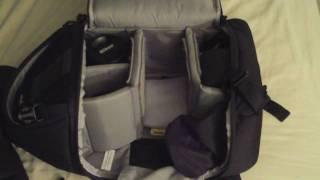 getlinkyoutube.com-Inside My Nikon Camera Bag (LowePro Slingshot)