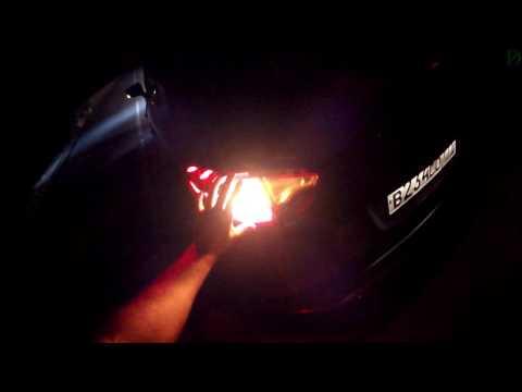 Renault Kaptur - ночной обзор