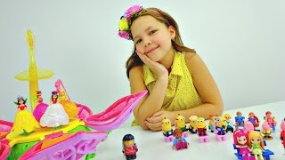 getlinkyoutube.com-Детский театр. Феи ставят спектакль для игрушек с подружкой Настей.