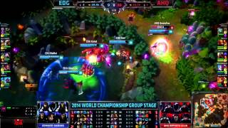League of Legends World Championships - Top Plays 2014