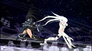 getlinkyoutube.com-Black Rock Shooter The Game (US):  White Rock Shooter Final Boss Fight and Normal Ending