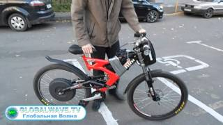 getlinkyoutube.com-Испытания мотор-колеса разработки Дуюнова Д.А. - Глобальная Волна - The Global Wave