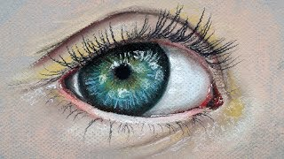 getlinkyoutube.com-How to Draw a Realistic Eye with Pastels