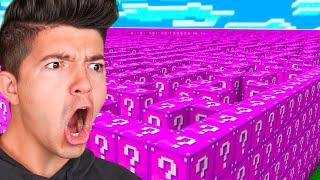 getlinkyoutube.com-Minecraft PINK LUCKY BLOCK MAZE... FOR BOOBS?! (Minecraft Lucky Block Mod) - w/PrestonPlayz