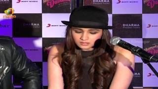 getlinkyoutube.com-Alia Bhatt singing Main Tenu Samjhawan Ki song @ Humpty Sharma Ki Dulhania - Bollywood News