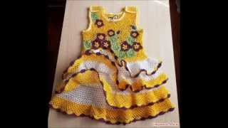getlinkyoutube.com-CROCHET BABY DRESSES