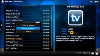 getlinkyoutube.com-Brand New PVR IPTV SImple Client link  for XBMC KODI 2015 ( Feb 2015 Link)