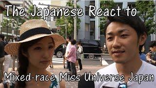 getlinkyoutube.com-Japanese React to Mixed-race Miss Universe Japan Ariana Miyamoto (Interview)