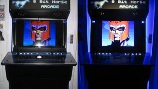 getlinkyoutube.com-8 Bit Horse Arcade Cabinet Review