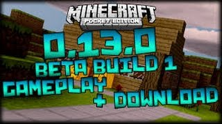 getlinkyoutube.com-Como baixar minecraft pe 0.13.0 build 1