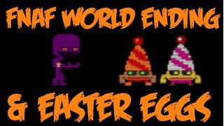 getlinkyoutube.com-FNAF World Halloween Edition | Easter Eggs & Ending