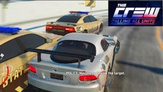 getlinkyoutube.com-The Crew Calling All Units! - CANT CATCH ME OFFICER... wait